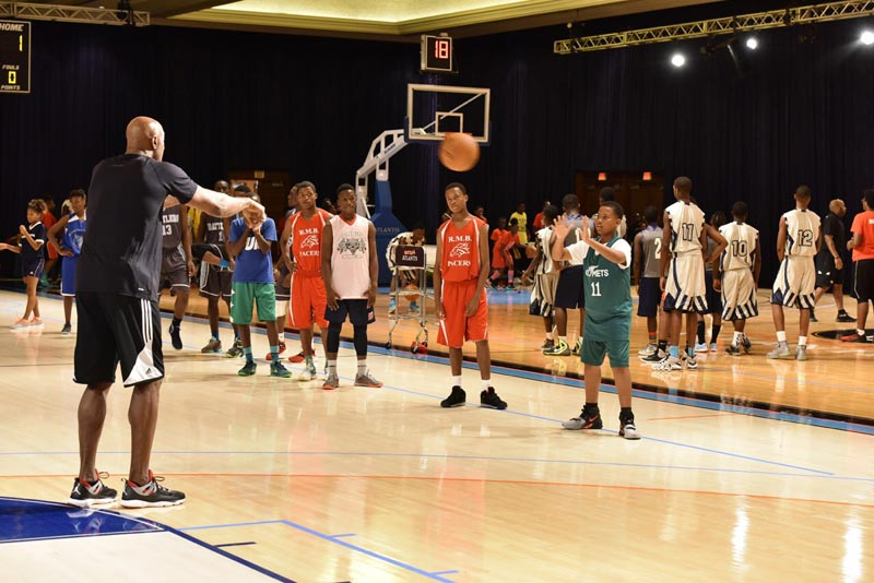 Alonzo Mourning Clinic at Atlantis Bahamas