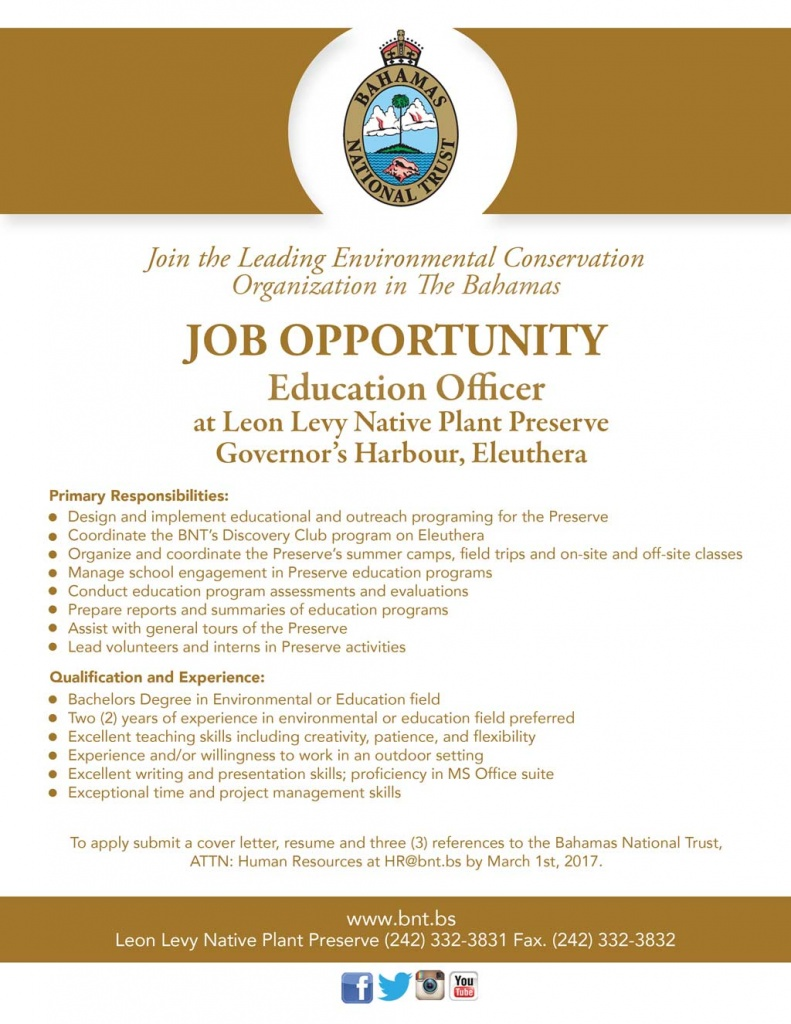 Education-Officer---LLNPP-Job-Opportunity