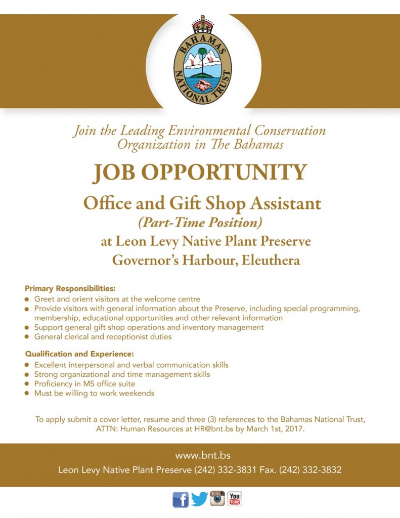 Check out these job opportunities at the llnpp in governors office gift shop assistant llnpp job opportunity negle Gallery
