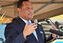 File photo: Prime Minister of The Bahamas  Rt. Hon. Perry G. Christie