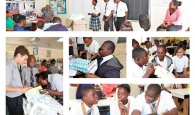 Students participating in the Pilot Science Extravaganza being hosted at North Eleuthera High School
