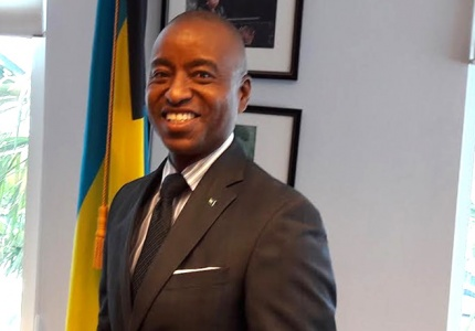 Minister of Foreign Affairs Hon. Darren Henfield