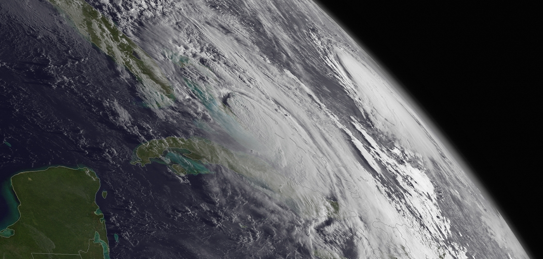 "Last year produced 5 land-falling storms, including Matthew that caused $10 billion in damage and killed 34 people in the U.S. and 551 in the Caribbean. It was one of the deadliest Atlantic hurricanes on record."" title=""Last year produced 5 land-falling storms, including Matthew that caused $10 billion in damage and killed 34 people in the U.S. and 551 in the Caribbean. It was one of the deadliest Atlantic hurricanes on record. (NOAA)"