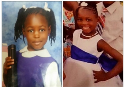 "7 – year old ELNORA LEZETTE BULLARD of Family Street, New Providence, who was reported missing shortly before 7:00pm on Friday 2nd June 2017, by family members following a beach picnic at the eastern end of Arawak Cay. Young Elnora is described as a dark brown girl, slim build, about 3' 7"" to 4 foot in height with a noticeable scar on her left cheek. She was last seeing wearing a beige bathing suit."