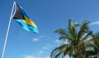 The Flag of the Bahamas