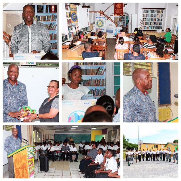 "Mr. Alfred Sears visited with High schools on the island, and was also hosted at the Haynes Library on Thursday evening, September 28th, 2017 for a public presentation of his memoirs, ""A Community Life."""