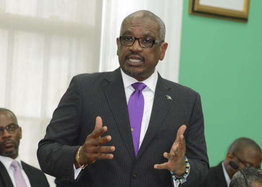 Prime Minister Minnis
