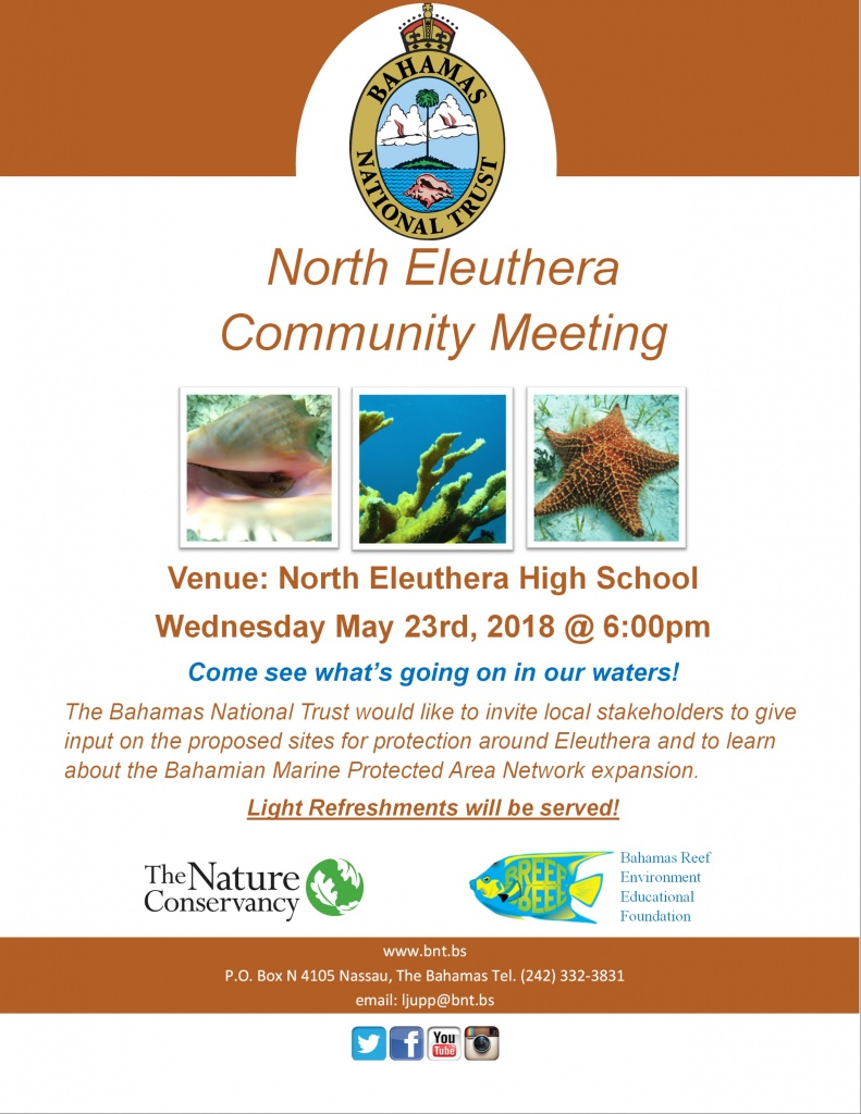North Eleuthera stakeholder consultation meeting.