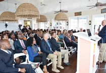 Full House at the Eleuthera Business Outlook, hosted on April 26th, 2018 in Harbour Island.