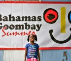 Bright smile at Harbour Island's Goombay Summer Festival. (Photo by Ministry of Tourism)