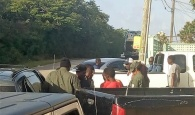 Illegal migrants being apprehended in the Wemyss Bight area of South Eleuthera, on Sunday, August 12th, 2018.
