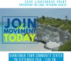 Happening Tonight - Lighthouse Point Town Meeting.