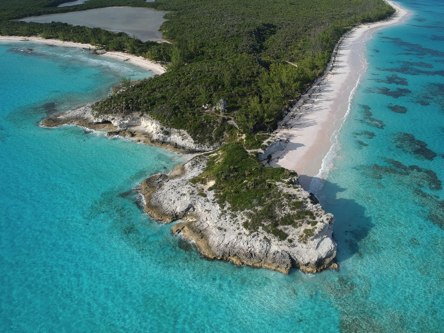 Lighthouse Point, South Eleuthera. (Courtesy of BNT)