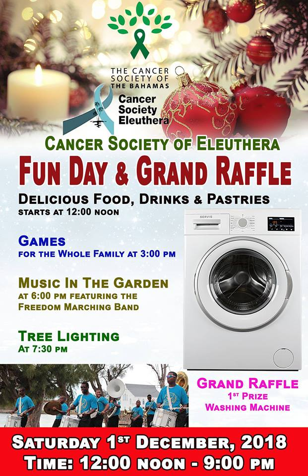 Cancer Society Dec1 Event Poster