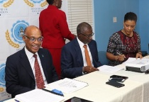 Ministry of Education, Cable Bahamas, and Sam's Business Machines Representatives