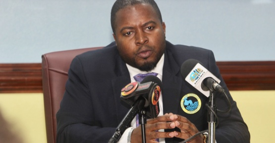 Water & Sewerage Corporation Chairman Adrian Gibson (file photo)