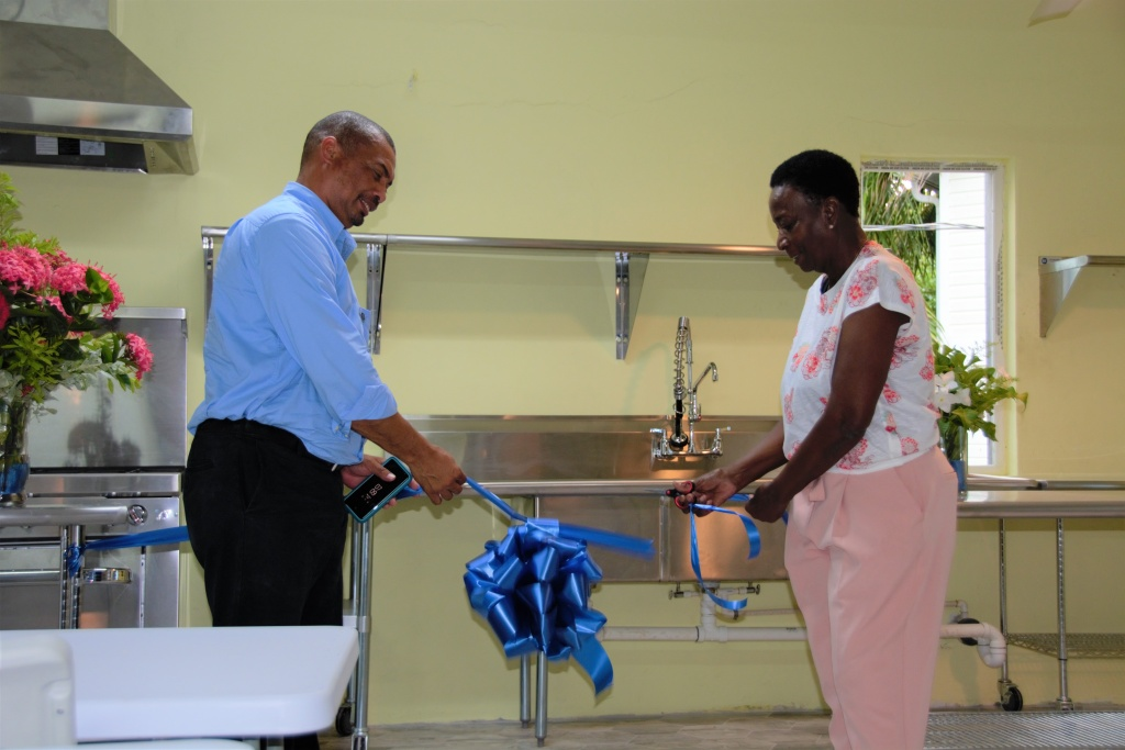 Cutting of the Ribbon for the Official Opening of CTI HITS.