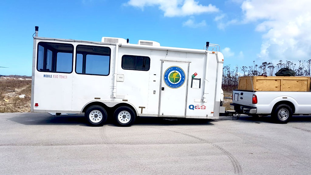 State-of-the art mobile ATC unit arrives on Abaco