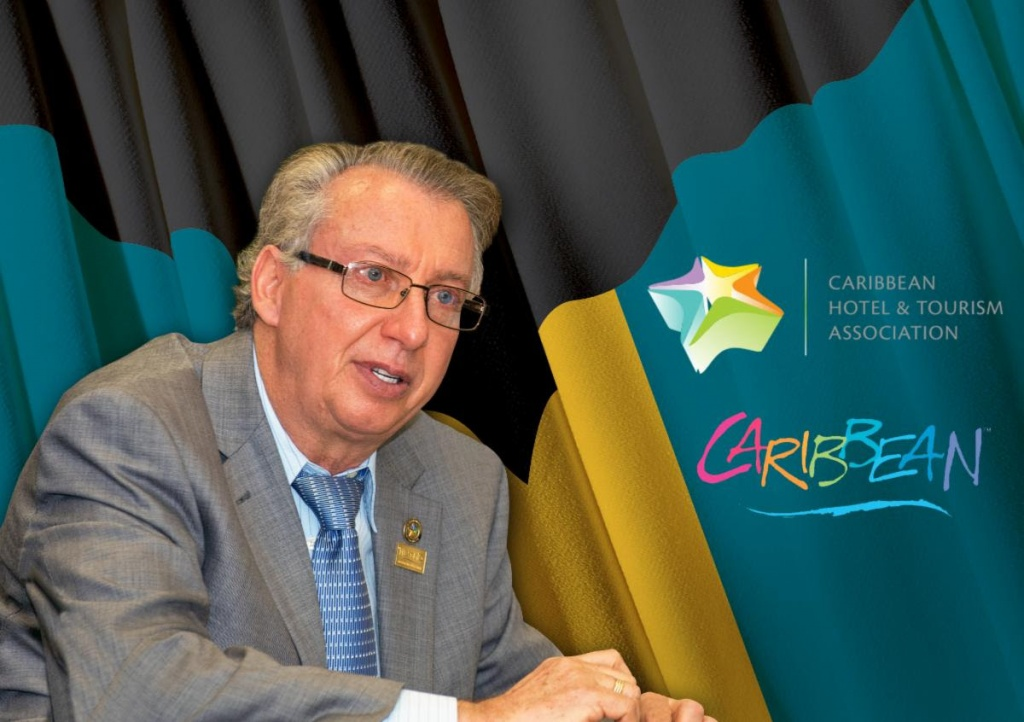 Frank Comito, Director General and CEO of CHTA, urges support for the Bahamas.