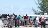 File photo: Hurricane Dorian victims out of Abaco arriving in Eleuthera via boat.