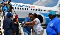 Prime Minister Minnis arrived in Grand Bahama on Saturday, September 7, 2019 for a firsthand view of the destruction caused by Hurricane Dorian.  (BIS Photo/Yontalay Bowe)