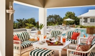 """Island Chic. Gumelemi Bluff Harbour Estate, a 3,106-sq.-ft.  home on Harbour Island exclusively listed with Damianos Sotheby's International Realty, is the featured property for Elle Décor's """"5 Ways to Transform Any Beach House into a Serene Tropical Oasis."""""""