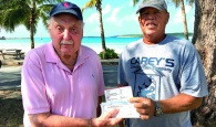 Eleuthera Island Shores Homeowner Teams Up With Local Contractor To Donate To Bahamas Red Cross