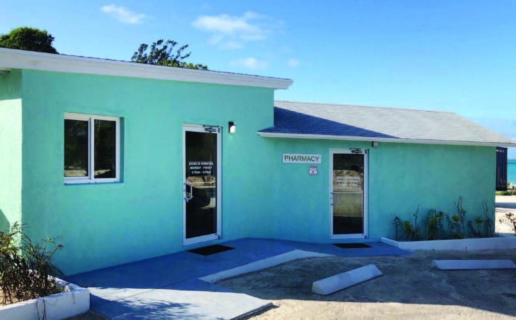 The new Family Medicine Center clinic in Rock Sound, Eleuthera.