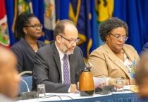 Caricom SG at Heads Meeting Feb18-19