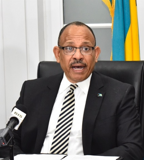 Minister of Health, Dr. Duane Sands.