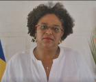 CARICOM Chairman, the Honourable Mia Amor Mottley.