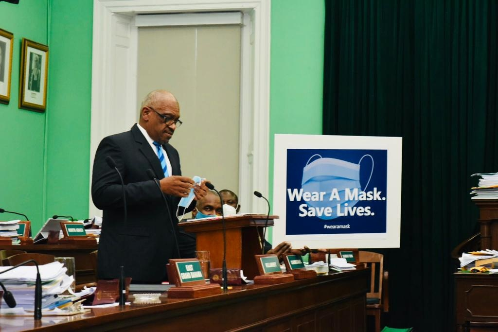 Prime Minister Minnis Reiterates - Wear a Mask. Save Lives