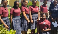 File Photo: PHAHS (Preston Albury High School) students on the grounds of the school.