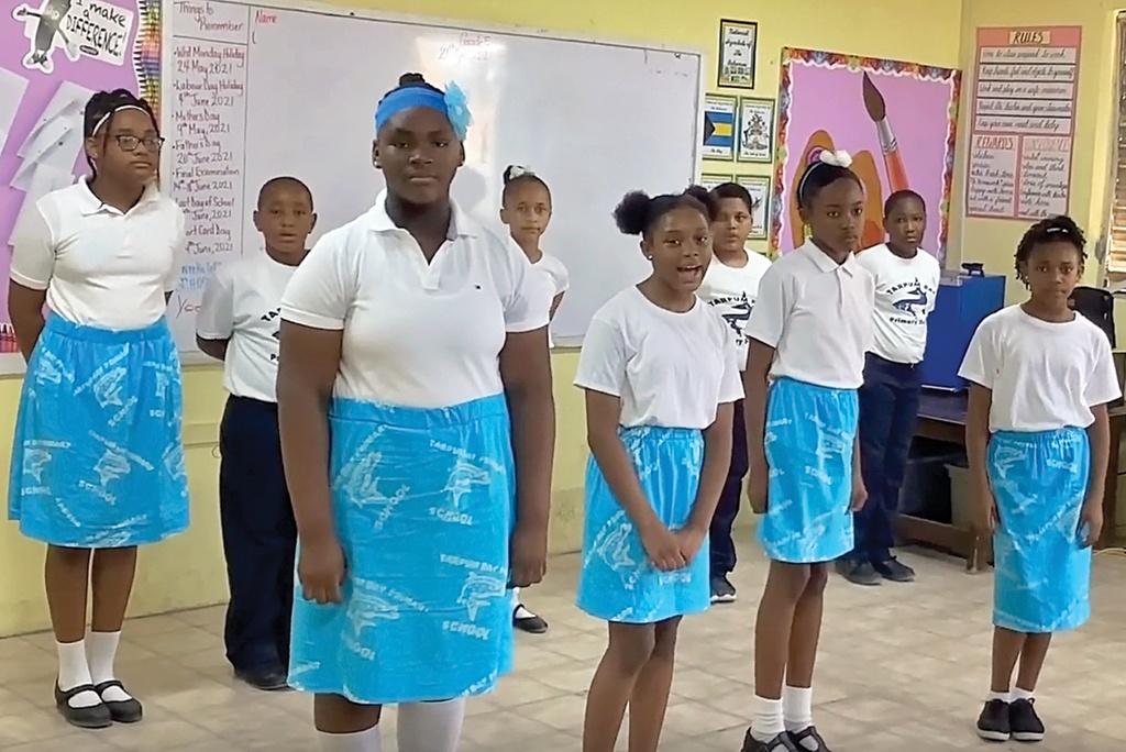 Tarpum Bay Choral Speakers.