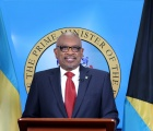 Prime Minister Minnis during a National Address on July 28th, 2021.