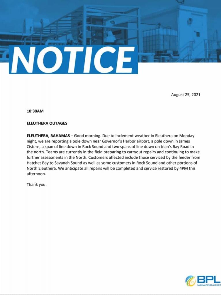 BPL Public Notice