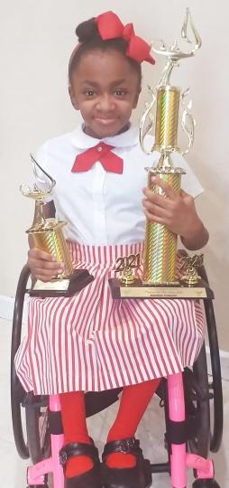 Miss Tamia Knowles of Emma E. Cooper Primary School.