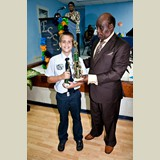 Primary School male of SGPAA awarded for his achievements in sports- 490A7120