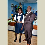 Primary School female of SGPAA awarded for her achievements in sports- 490A7121