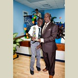 Primary School male of NEPS awarded yet again for his achievements in sports- 490A7127