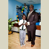 Primary School male awarded for his achievements in sports- 490A7129