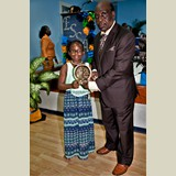 Primary School female awarded for her achievements in sports- 490A7132