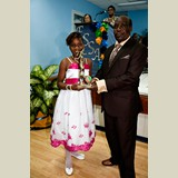 Primary School female awarded for her achievements in sports- 490A7136