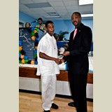 High School male of PHAHS awarded for his achievements in sports- 490A7142