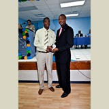 Recent graduate of the PHAHS, Sidney, awarded for his achievements in sports- 490A7143