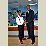 High School male of PHAHS, D'angelo Young, awarded yet again for his achievements in sports-490A7154