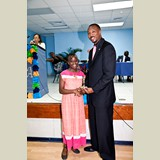 High School female of CEHS, Jameesha, awarded for her achievements in sports- 490A7156