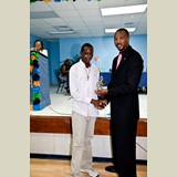 High School male of HIAAS awarded for his achievements in sports- 490A7159