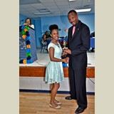 High School female of HIAAS, Breonte Bullard, awarded for her achievements in sports- 490A7162