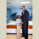 Primary School male awarded for his achievements in sports- 490A7167